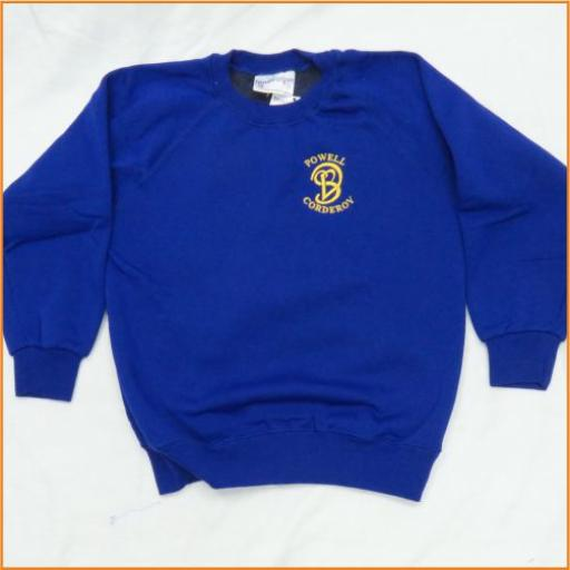 Powell Corderoy Sweatshirt - Crew Neck