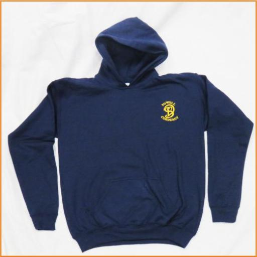 Powell Corderoy Hooded Sweatshirt - For PE