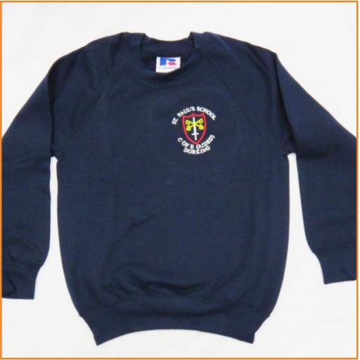 St Paul's Sweatshirt - Crew Neck