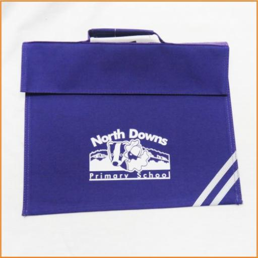 North Downs Book bag
