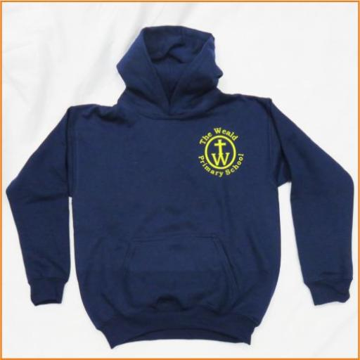 The Weald Hooded Sweatshirt - for PE