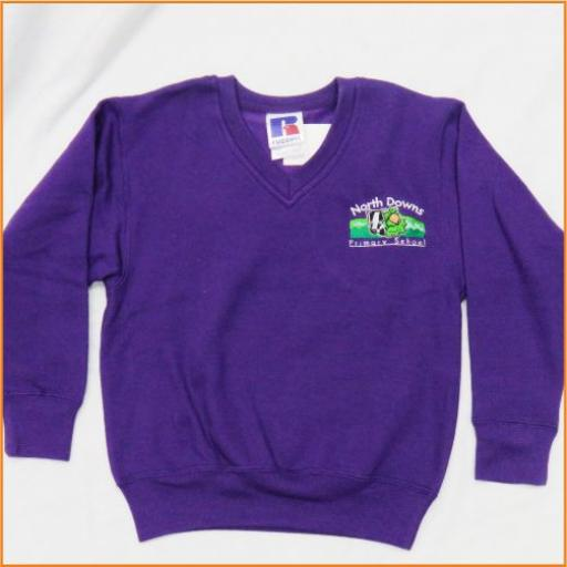North Downs Sweatshirt - V Neck