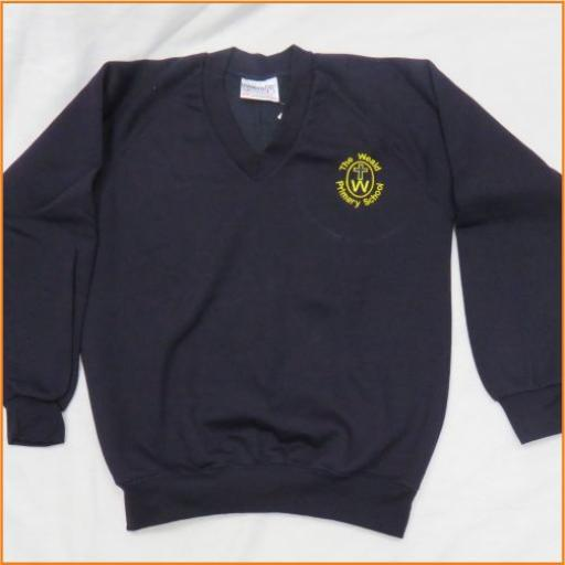 The Weald Sweatshirt - V Neck