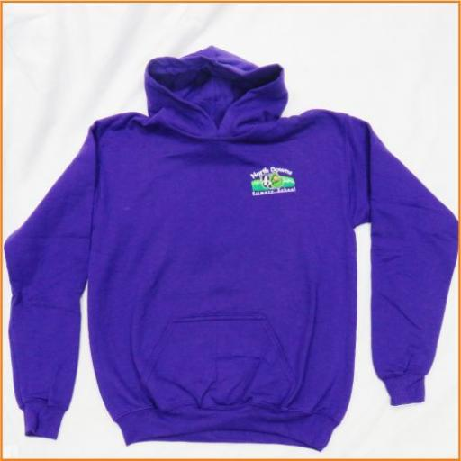 North Downs Hooded Sweatshirt - for PE