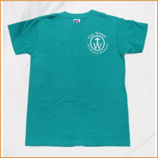 The Weald P.E. T Shirt, green