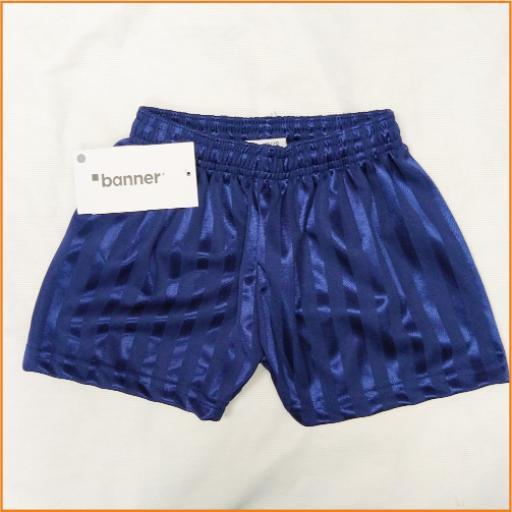 Navy P.E. shorts