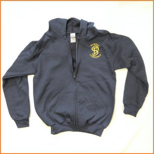Powell Coderoy Zipped Sweatshirt