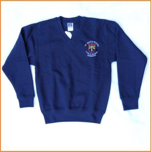 St Paul's sweatshirt - V neck